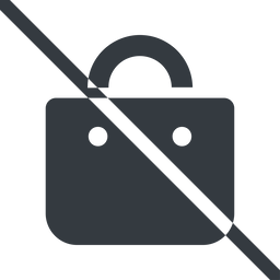 shopping-bag-solid line, normal, prohibited, shopping, cart, market, handbag, bag, bags, shopping-bag, shopping-bag-solid free icon 256x256 256x256px