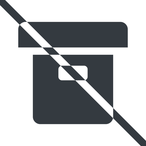 archive-solid line, prohibited, archive, back-up, archive-solid free icon 512x512 512x512px