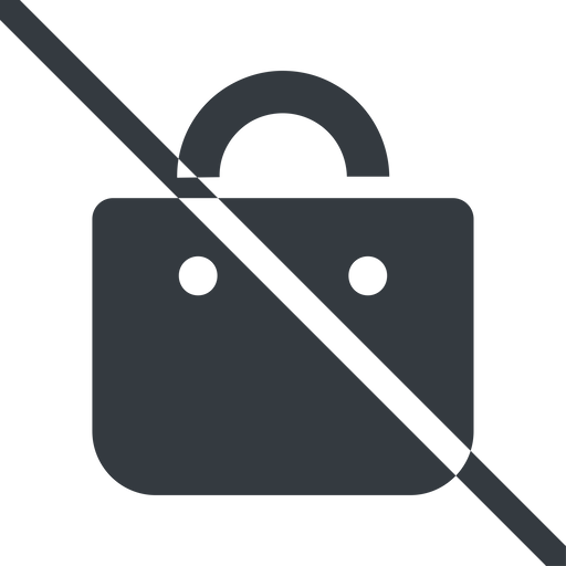 shopping-bag-solid line, normal, prohibited, shopping, cart, market, handbag, bag, bags, shopping-bag, shopping-bag-solid free icon 512x512 512x512px