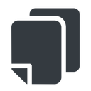 copy-solid down, normal, solid, copy, copy-solid, files free icon 128x128 128x128px