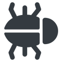bug-solid right, normal, solid, animal, bug, debug, debugging, insect, bug-solid free icon 128x128 128x128px