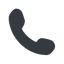 Right, normal, solid, phone, call, dial, number, phone-solid, telephone icon