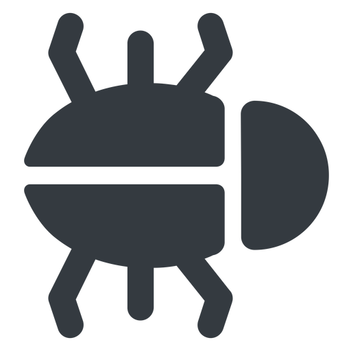 bug-solid right, normal, solid, animal, bug, debug, debugging, insect, bug-solid free icon 512x512 512x512px