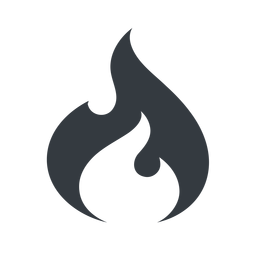 codeigniter normal, solid, logo, brand, icon, horizontal, mirror, codeigniter, igniter, code, php, framework, flame, fire free icon 256x256 256x256px