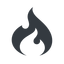 codeigniter normal, solid, logo, brand, icon, horizontal, mirror, codeigniter, igniter, code, php, framework, flame, fire free icon 64x64 64x64px