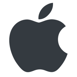 apple normal, solid, logo, brand, apple, macintosh, itunes, ipad, iphone, ipod free icon 256x256 256x256px