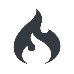 codeigniter normal, solid, logo, brand, icon, codeigniter, igniter, code, php, framework, flame, fire free icon 256x256 256x256px