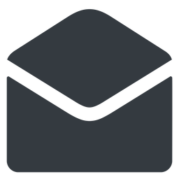 open-envelope-alt-solid normal, solid, envelope, mail, message, email, contact, open, read, open-envelope, open-envelope-alt, open-envelope-alt-solid free icon 256x256 256x256px