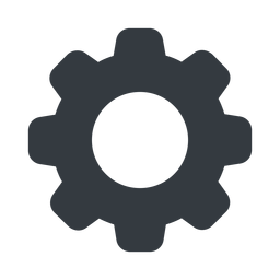 setting-solid normal, solid, setting, config, gear, wheel, settings, cog, setting-solid free icon 256x256 256x256px
