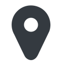 map-marker-solid normal, solid, map, marker, location, gps, map-marker-solid, map-marker free icon 128x128 128x128px