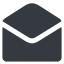 open-envelope-alt-solid normal, solid, envelope, mail, message, email, contact, open, read, open-envelope, open-envelope-alt, open-envelope-alt-solid free icon 128x128 128x128px