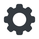 setting-solid normal, solid, setting, config, gear, wheel, settings, cog, setting-solid free icon 128x128 128x128px