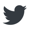 twitter up, normal, solid, logo, brand, social, twitter, bird, twit free icon 128x128 128x128px