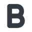 bold-alt normal, solid, b, text, type, editor, font, typography, font-weight, bold, bold-alt, strong free icon 64x64 64x64px