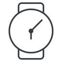 watch-thin thin, down, time, hour, minute, hours, minutes, watch, watch-thin free icon 128x128 128x128px