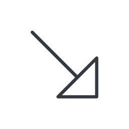 arrow-corner-thin thin, line, right, arrow, corner, arrow-corner-thin free icon 256x256 256x256px