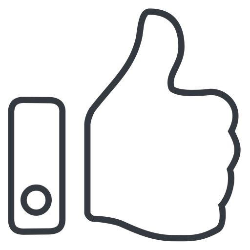 thumb-thin line, up, horizontal, mirror, rate, rating, thumb, like, dislike, thumbs, thump-up, thumb-down, approved, best, thumb-thin free icon 512x512 512x512px
