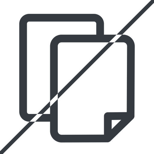 copy thin, line, down, horizontal, mirror, prohibited, copy, files free icon 512x512 512x512px