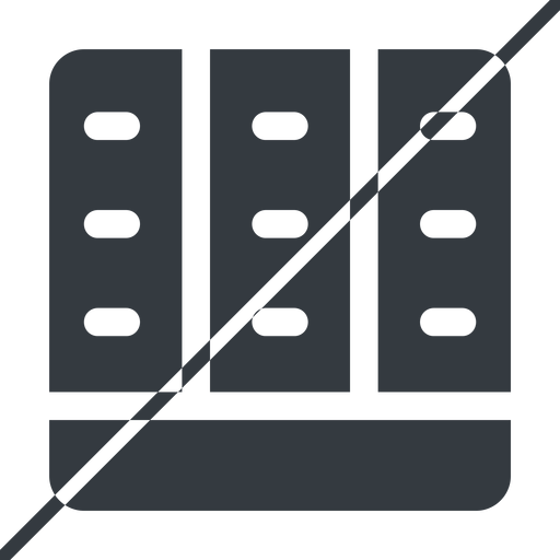 spreadsheet-solid thin, line, down, horizontal, mirror, prohibited, cell, table, data, grid, row, columns, spreadsheet, spreadsheet-solid free icon 512x512 512x512px