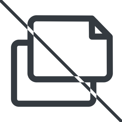 copy thin, line, left, horizontal, mirror, prohibited, copy, files free icon 512x512 512x512px