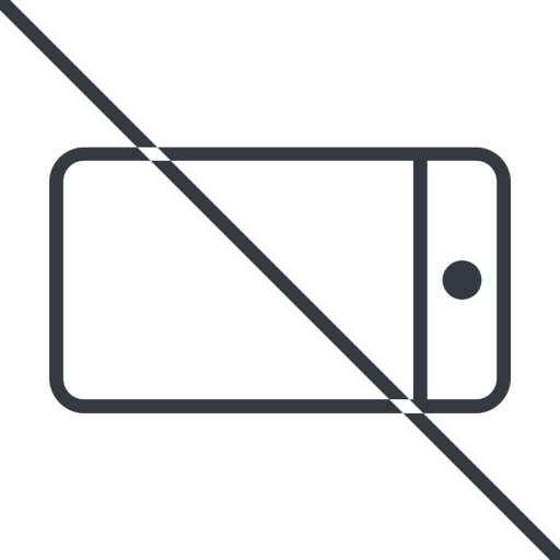 smartphone-thin thin, line, right, horizontal, mirror, prohibited, iphone, phone, mobile, android, gsm, smartphone, cell, smartphone-thin free icon 512x512 512x512px