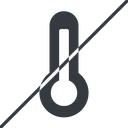 temperature-high-solid thin, line, horizontal, mirror, prohibited, temperature, thermometer, heat, high, temperature-high-solid, temperature-high, hot free icon 128x128 128x128px