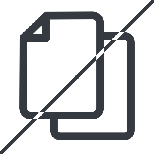 copy thin, line, up, horizontal, mirror, prohibited, copy, files free icon 512x512 512x512px