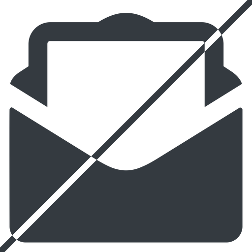 envelope-sheet-solid thin, line, horizontal, mirror, envelope, mail, message, email, letter, prohibited, contact, sheet, open, read, open-envelope, open-envelope-sheet, envelope-sheet, envelope-sheet-solid free icon 512x512 512x512px