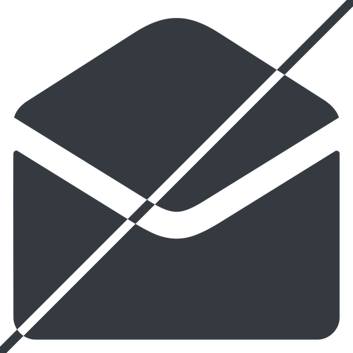open-envelope-alt-solid thin, line, horizontal, mirror, envelope, mail, message, email, prohibited, contact, open, read, open-envelope, open-envelope-alt, open-envelope-alt-solid free icon 512x512 512x512px