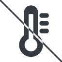 thermometer-high-solid thin, line, solid, prohibited, temperature, thermometer, heat, high, hot, thermometer-high, thermometer-high-solid free icon 128x128 128x128px
