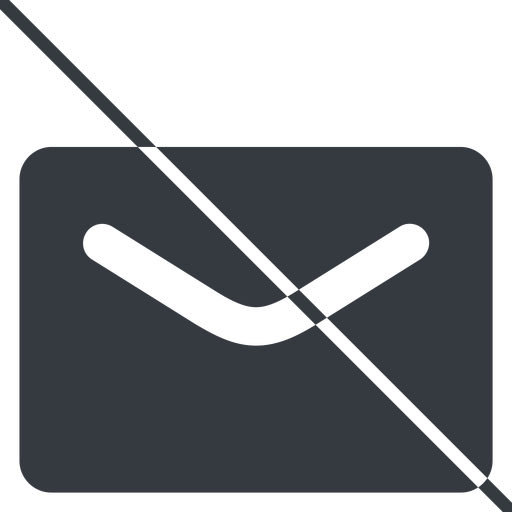 close-envelope-solid thin, line, envelope, mail, message, email, prohibited, contact, close, unread, close-envelope-solid, close-envelope free icon 512x512 512x512px
