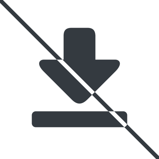 download-solid thin, line, up, downloaded, downloading, prohibited, download-solid free icon 512x512 512x512px