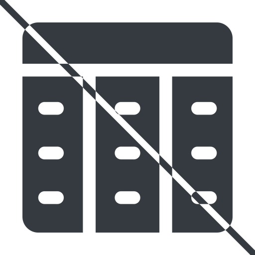 spreadsheet-solid thin, line, up, prohibited, cell, table, data, grid, row, columns, spreadsheet, spreadsheet-solid free icon 512x512 512x512px