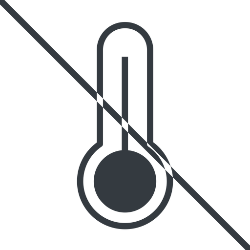 temperature-high-thin thin, line, prohibited, temperature, thermometer, heat, high, temperature-high-thin, temperature-high, hot free icon 512x512 512x512px