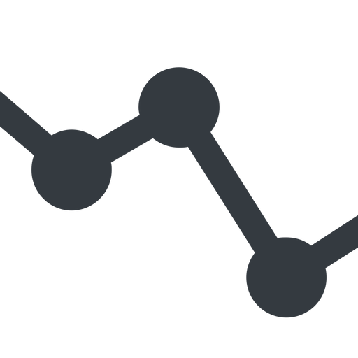 analytics-wide line, down, wide, horizontal, mirror, graph, analytics, chart, analytics-wide free icon 512x512 512x512px