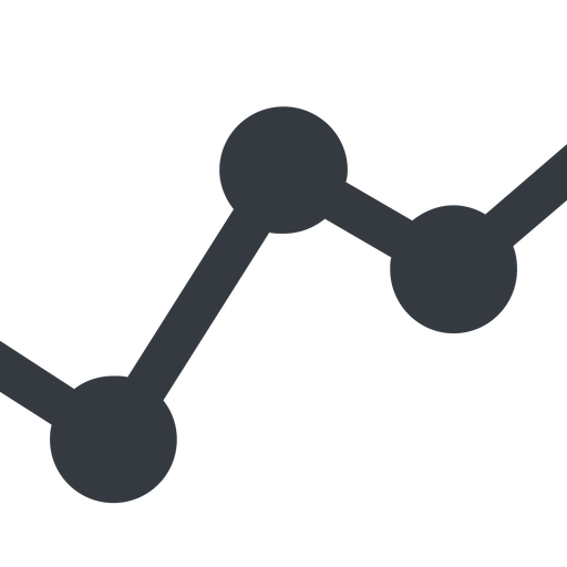 analytics-wide line, down, wide, graph, analytics, chart, analytics-wide free icon 512x512 512x512px