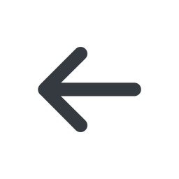 arrow-simple-wide line, left, arrow, direction, arrow-simple-wide free icon 256x256 256x256px