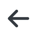 arrow-simple-wide line, left, arrow, direction, arrow-simple-wide free icon 128x128 128x128px