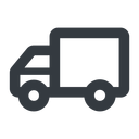 truck-wide line, wide, solid, horizontal, mirror, truck, delivery, van, lorry, truck-wide free icon 128x128 128x128px