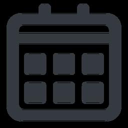 Calendar Wide Friconix