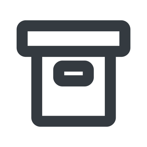 archive-wide line, wide, archive, back-up, archive-wide free icon 512x512 512x512px