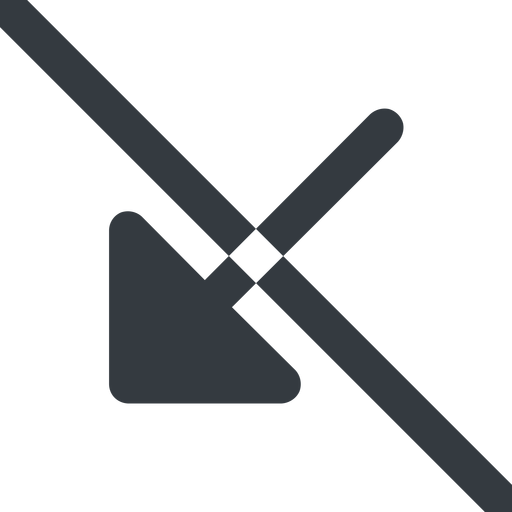 arrow-corner-solid line, down, wide, arrow, prohibited, corner, arrow-corner-solid free icon 512x512 512x512px