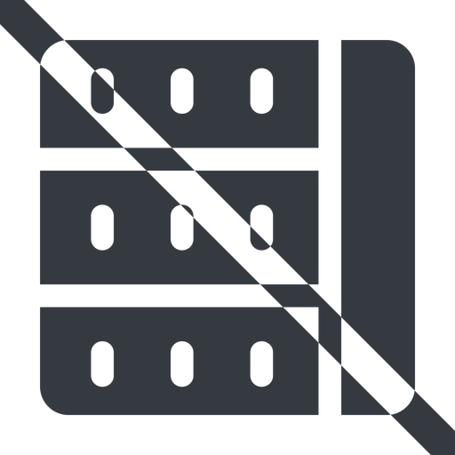 spreadsheet-solid line, left, wide, horizontal, mirror, prohibited, cell, table, data, grid, row, columns, spreadsheet, spreadsheet-solid free icon 512x512 512x512px