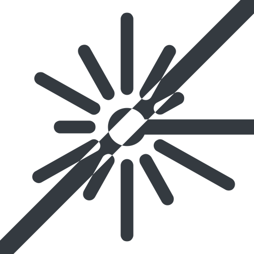 laser line, left, wide, prohibited, laser, light, cutting, engrave free icon 512x512 512x512px