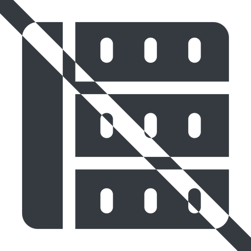 spreadsheet-solid line, right, wide, horizontal, mirror, prohibited, cell, table, data, grid, row, columns, spreadsheet, spreadsheet-solid free icon 512x512 512x512px