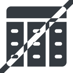 spreadsheet-solid line, up, wide, horizontal, mirror, prohibited, cell, table, data, grid, row, columns, spreadsheet, spreadsheet-solid free icon 256x256 256x256px