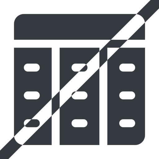 spreadsheet-solid line, up, wide, horizontal, mirror, prohibited, cell, table, data, grid, row, columns, spreadsheet, spreadsheet-solid free icon 512x512 512x512px