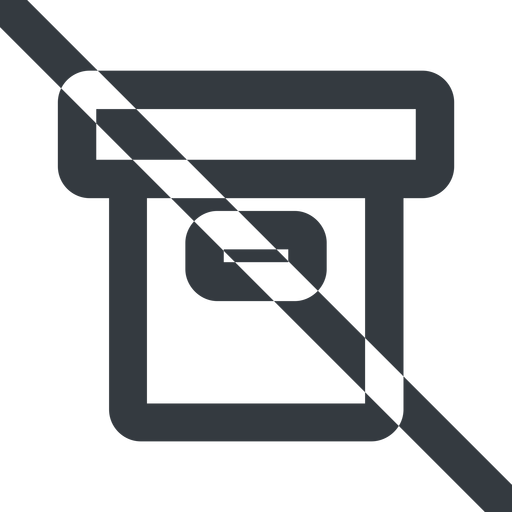 archive-wide line, wide, prohibited, archive, back-up, archive-wide free icon 512x512 512x512px