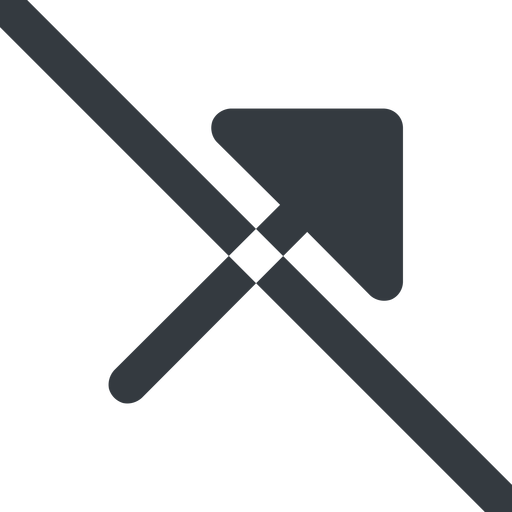 arrow-corner-solid line, up, wide, arrow, prohibited, corner, arrow-corner-solid free icon 512x512 512x512px