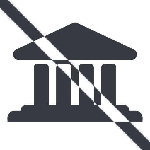 bank-solid line, wide, prohibited, law, bank, banking, university, investment, finance, bank-solid, court free icon 512x512 512x512px